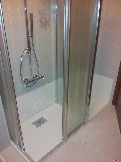 Da vasca a doccia filo pavimento - Novabad