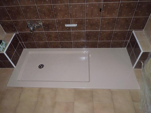 Da vasca a doccia filo pavimento novabad - Foto di bagni con doccia ...