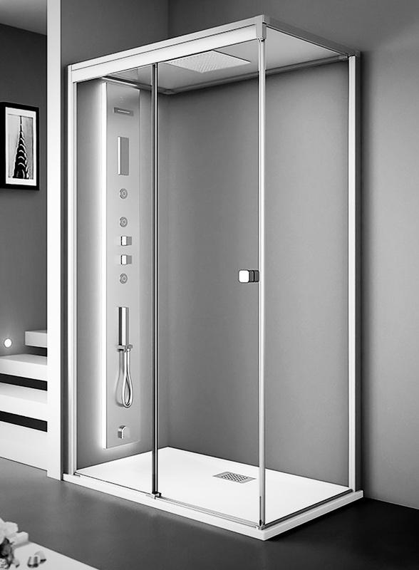 Pin cabine doccia idromassaggio box prezzi offerte vendita - Cabine doccia multifunzione prezzi ...