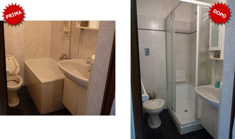 Quanto costa sostituire la vasca da bagno con doccia - Vasca doccia da bagno ...