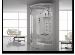 Cabine doccia<br>idromassaggio