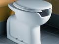 WC con altezza maggiorata e apertura x idroscopino