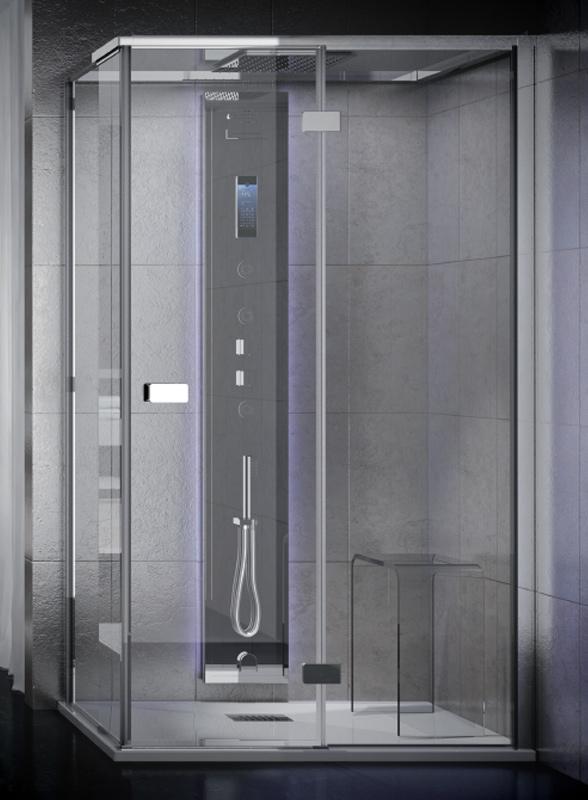 Cabina idromassaggio aquasteel Vapor 90x70, 100x70,120x70,140x70