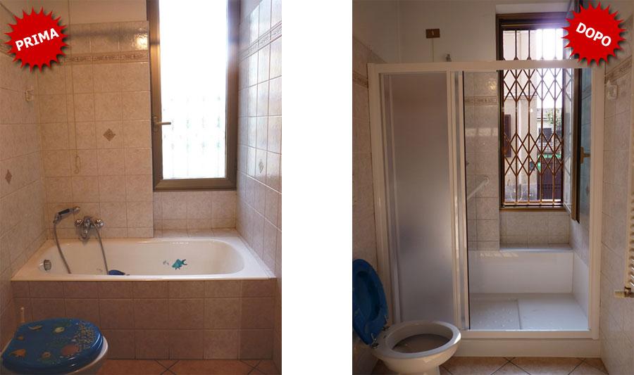 Quanto costa sostituire la vasca da bagno con doccia?